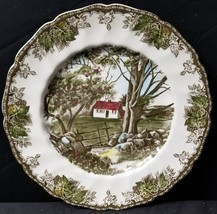 """Johnson Brothers The Friendly Village Stone Wall Dinner Plate 10.5"""" - $32.71"""