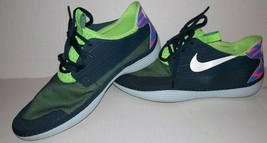 Nike Solarsoft Moccasin Men's Athletic Shoes Size 11 Running Sneakers Bl... - $19.79
