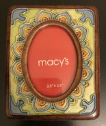 Vintage Macy's Ceramic Picture Frame - $12.18