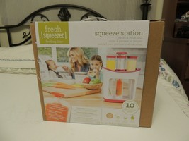 Infantino Fresh Squeezed Squeeze Station Baby Food Maker Storage Feeding... - $19.22