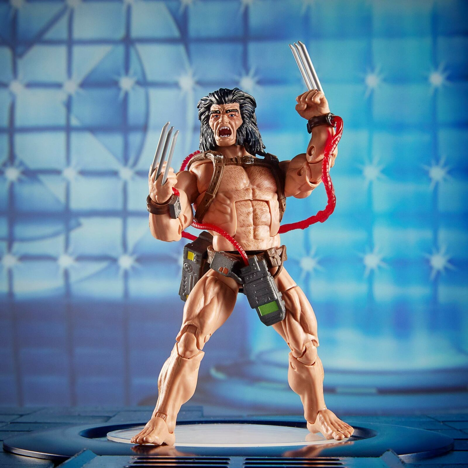 "Marvel Hasbro Legends Series 6"" Collectible Action Figure Weapon X Toy (X-Men..."