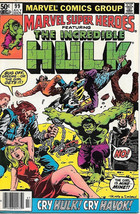 Marvel Super-Heroes Comic Book #99, Marvel Comics 1981 FINE+ - $3.75