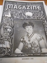 Great Collectible THE UNITED DAUGHTERS OF THE CONFEDERACY Magazine Novem... - $8.50