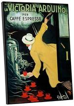 Pingo World 0616QPXD6AM Cafe Victoria Arduino Vintage Advertising Poster Gallery - $57.37