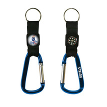 Non Metal Mlb Kansas City Royals Navi-Biner Key Ring By Rico Industries ... - $15.12