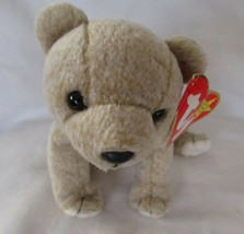 Ty Beanie Baby Almond the Bear Scuffed Tush Tag - $5.93