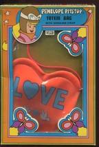 Vtg 1973 Penelope Pitstop Totem Bag Mint in Box Tote Love Vinyl - $17.99