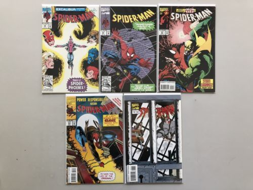 Lot of 10 Spider-Man (1990) from #2-57 FN-VF Very Fine