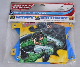 Justice League Rescue Happy Birthday Banner (1ct) - $5.59