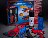2 IN 1 The Amazing Spider-Man Mega Blaster Web Shooter for Kids No Box