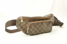 LOUIS VUITTON Damier Ebene Melville Bum Bag N51172 LV Auth ar1765 - $650.00