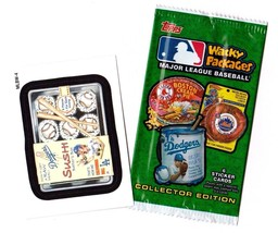"2016 Wacky Packages Baseball Series ""LA DODGERS SUSHI"" Promo Sticker MLBW-4 - $1.00"