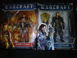 Warcraft 6 in figurines Durotan & Lothar 2 packs Free Shipping World of ... - $20.56