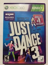 Just Dance 3 (Microsoft Xbox 360, 2011) - Complete - - $5.49