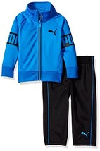 PUMA Little Boys' Track Set (18M|Blue) - $33.32
