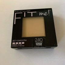 Maybelline Fit Me Set Smooth Normal to Dry 240 Golden Beige Pressed Powder  - $5.89