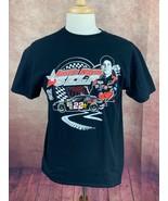 Austin Wayne Self #22 NASCAR Dueces Wild Tour Black T Shirt Men's Large  - $12.82