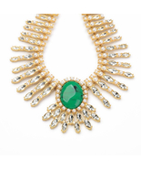 Statement Necklace Perfume Women Exaggerated Party Necklace Dress Match... - $33.32