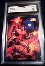1995 Marvel Masterpieces Deathlok GMA Graded 8 NM-MT Non-Sports Card Num... - $7.75