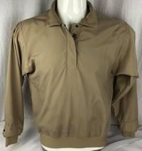 Zero restriction women's brown quarter snap golf outerwear pullover size S - $20.82