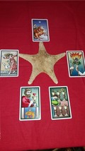 Sevenfold Mystery Tarot Cards Reading With Five Cards. One Question - $25.55