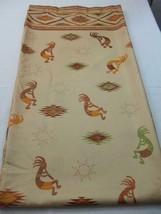 Kokopelli Dancers Flute Southwestern Aztec Fabric Shower Curtain Brown B... - $19.79