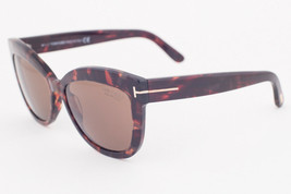 Tom Ford Alistair Havana Brown / Brown Polarized Sunglasses TF524 54H - $214.62