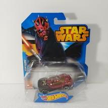 Star Wars Darth Maul Hot Wheels Disney Mattel Toy Car 2014 Collectible Rare - $12.59