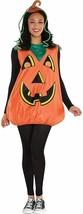 Amscan Bello Zucca Jack O Lanterna Adulto Donna Halloween Costume 841876 - $30.49