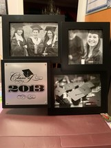 Class Of 2013 Graduation Picture Frame Wall Hanging Collage Photo Frame Rare New - $49.99