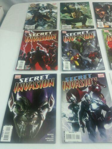 MARVEL Secret Invasion 20 Comic Book  Lot  Set of 1 - 8 + 5 Dark X-Men + More