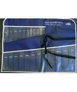 Armstrong NSN-1819 Vinyl Roll 23 Pockets Wrench Tool Roll Holder (No Too... - $10.89