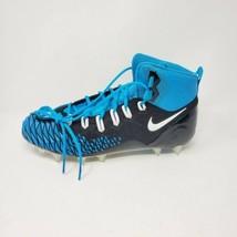 Nike Force Savage Football Cleats, Mens 13, AJ6605-015, Carolina Blue / Black - $39.55