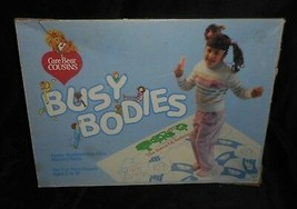 VINTAGE 1985 CARE BEAR COUSINS BUSY BODIES MEMORY GAME W/ MAT TOY PARKER... - $66.62