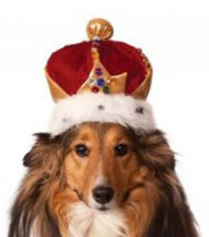 King's Crown Pet Costume for Dogs