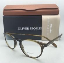 New Oliver Peoples Eyeglasses Riley R Ov 5004 1211 45-20 Moss Tortoise Frames - $299.99