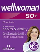 Wellwoman Vitabiotics 50+ 30 Tablets