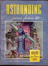 Astounding Stories 1943 Aug Robot Cover Street & Smith Vf - $181.88