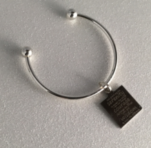 Silver Bracelet ,Serenity Prayer,God grant me the Serenity,Gift for $10.00 - $10.00