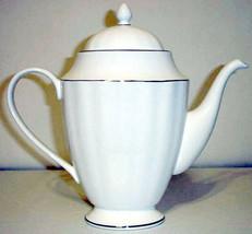 Gorham Arbor White Coffee Pot Platinum Bands Retail $215 New - $48.90