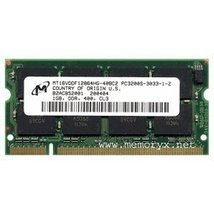1GB PC3200 DDR400 Dual Rank 200pin Notebook SODIMM by Gigaram - $28.61