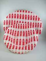 Coca-Cola Reusable Disposable Serving Tray And Bowls Set of 4 Red and Wh... - $9.90