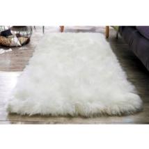 BIG 5' Extra Fluffy Faux Fur Non-Slip Rug No Shedding 152cmX74cm Home De... - $17.99
