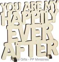Primitives by Kathy Word Art, Ever After, Cream - $10.84