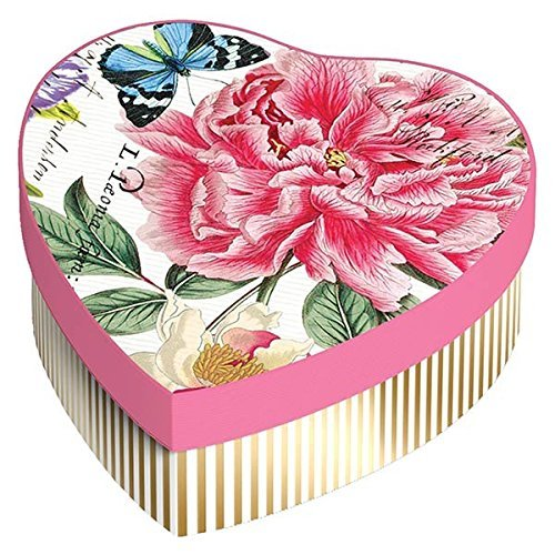 Michel Design Works Hearts & Flowers Soap Gift Set, Peony