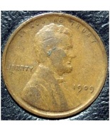 1909 Lincoln Wheat Penny F12 #311 - $4.79