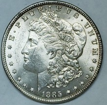 1885 $1 Morgan Silver Dollar Coin Lot # E 111