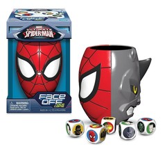 Marvel Ultimate Spider-Man Face Off Dice Game Spider-Man vs Rhino New - $16.97
