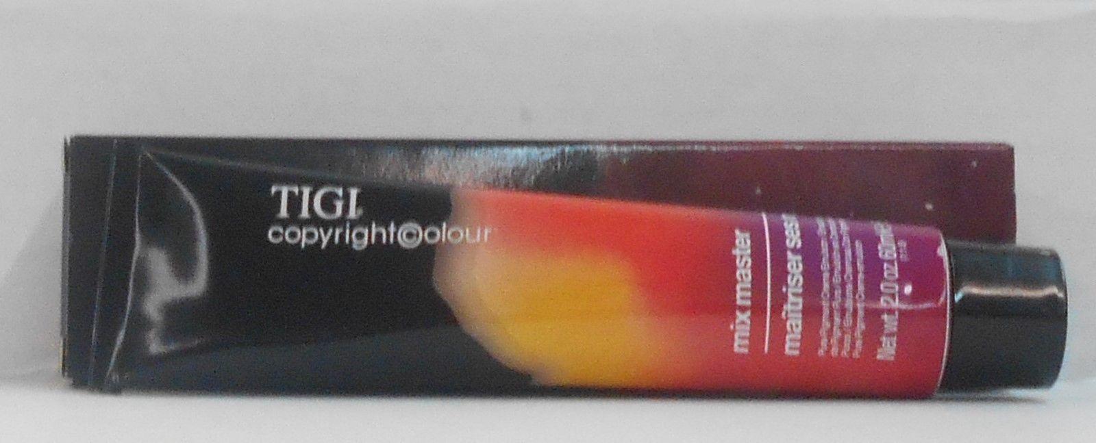 New Pkg TIGI MIX MASTER Pure Pigment Professional Permanent Hair Colour  2.0 oz!