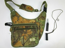 Lot Turkey Call + Magnum Tactical Field Range Cross Body Bag Camo Should... - $35.25